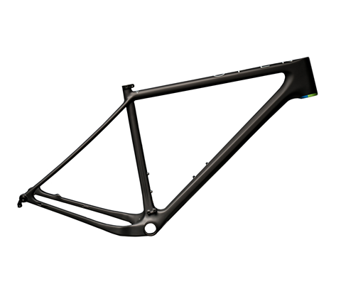 ONE+ Hardtail frameset - matte black